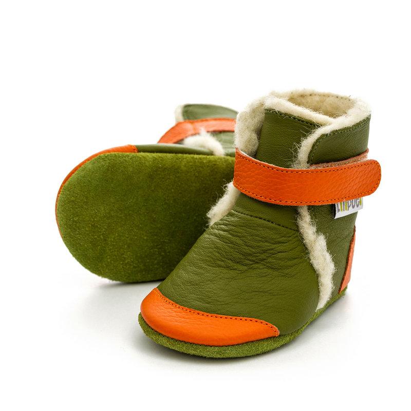 Liliputi® Soft Soled Booties - Jungle