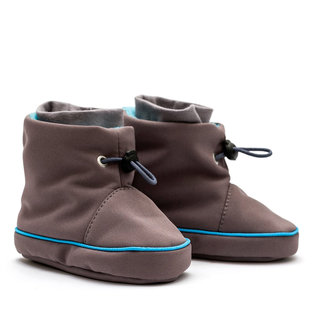 Liliputi® Babywearing booties - Grey-turquoise