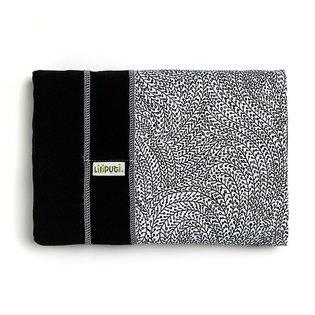 Liliputi® Stretchy Wrap - Rainbow line - Orient