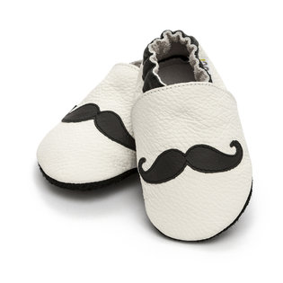 Liliputi® Soft Baby Shoes - Moustache