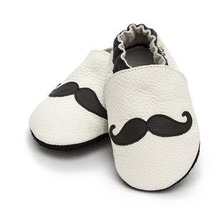 Liliputi® Soft Baby Shoes - Moustache