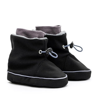 Liliputi® Babywearing booties - Black-Grey