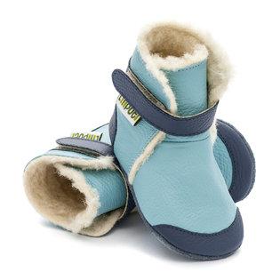 Liliputi® Soft Soled Booties - Eskimo Blue