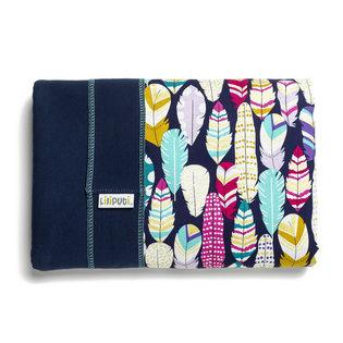 Liliputi® Stretchy Wrap - Rainbow line - Feather