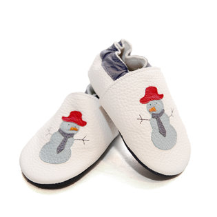 Liliputi® Soft Baby Shoes - Funky Snowman