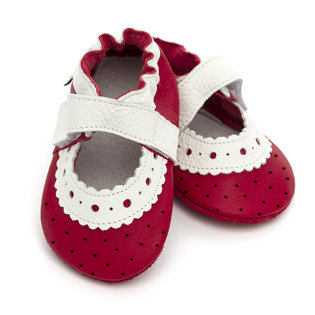 Liliputi® Soft Baby Sandals - Red Rose