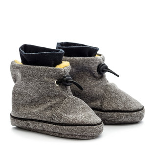 Liliputi® Babywearing booties - Grey-Yellow