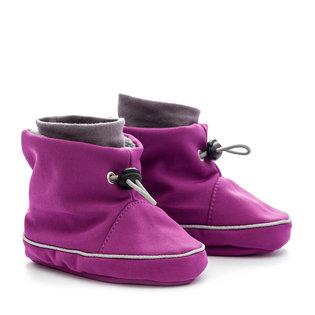 Liliputi® Babywearing booties - Violet-Grey