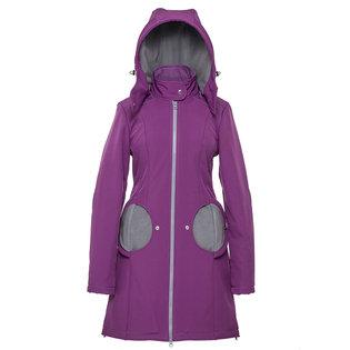 Liliputi® 4in1 Babywearing Mama Coat - Violet-Grey