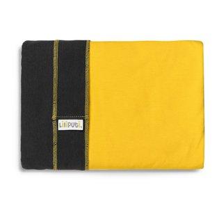 Liliputi® Stretchy Wrap - Duo line - Graphit-Sunshine