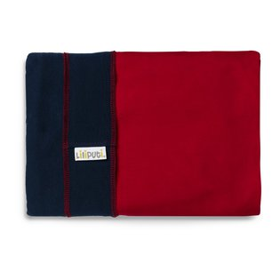 Liliputi® Stretchy Wrap - Duo line - Navy-Red