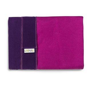 Liliputi® Stretchy Wrap - Duo line - Purple-Fuchsia