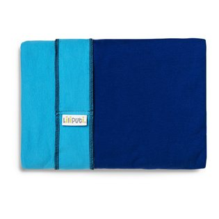Liliputi® Stretchy Wrap - Duo line - Turquoise-Aqua