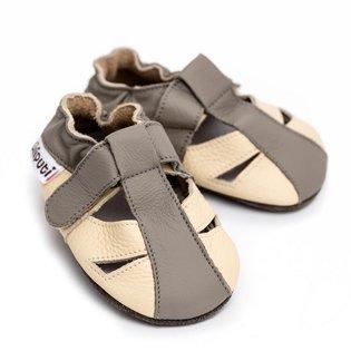 Liliputi® Soft Baby Sandals - Greyhound